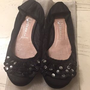 Black Jeffrey Campbell Flats